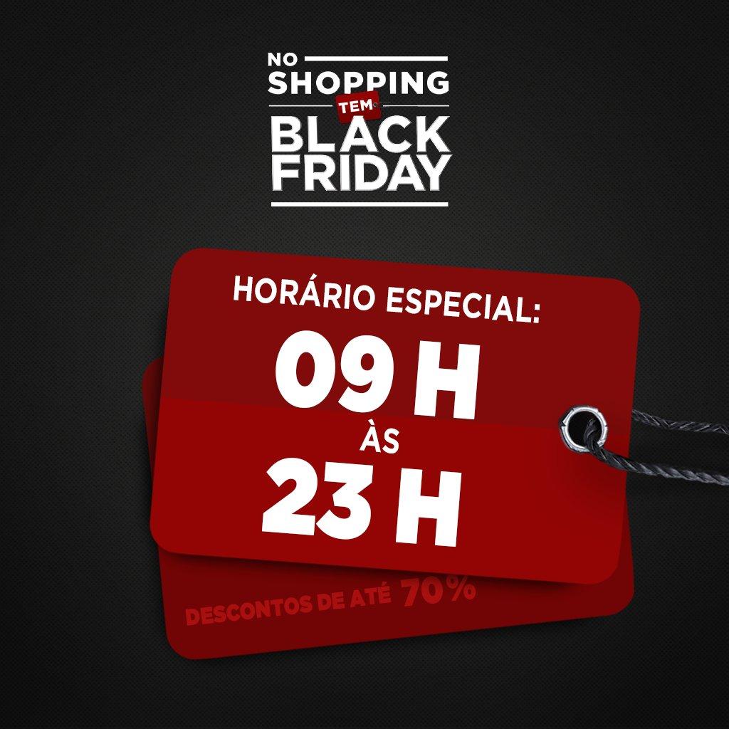 Até o horário da Black Friday do Amazonas Shopping está especial: nesta sexta-feira funcionaremos das 09h às 23h. https://t.co/Ae7kxfTa3V