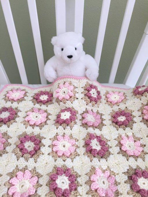 CROCHET PATTERN, Crochet Baby Blanket Pattern, Baby Blanket Pattern, Crib Blanket, Flower Blanket Pattern