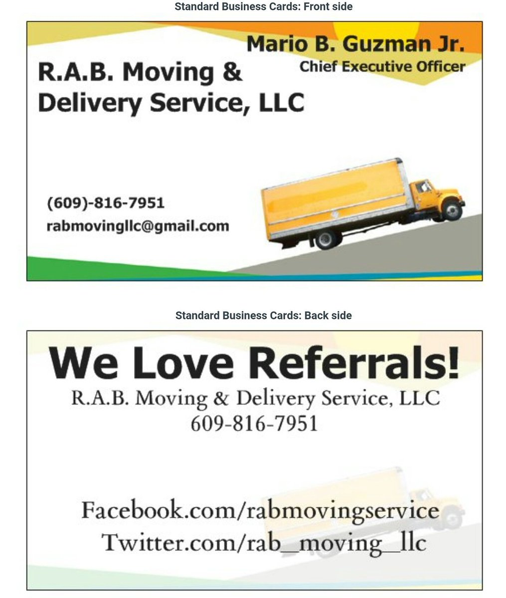 RAB Moving Service on Twitter: \