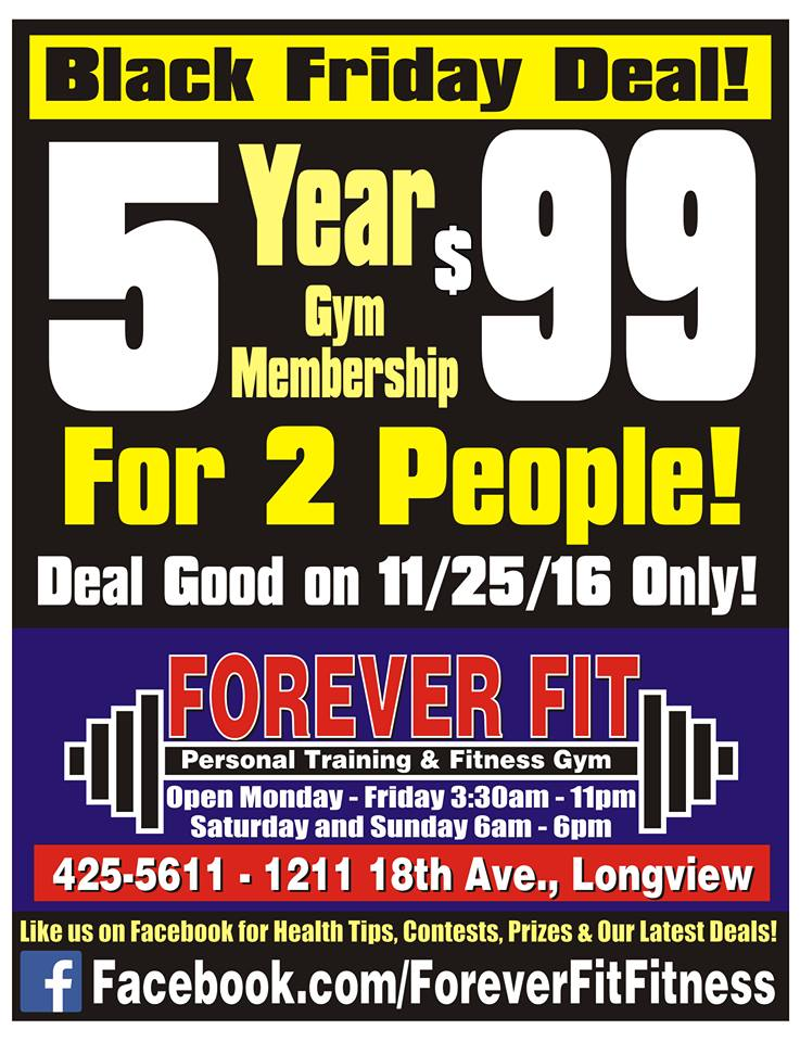 Black friday gym membership deals anotherhackedlife