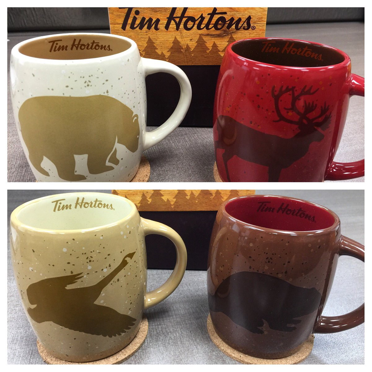 Canada's favourite coffee shop has the holidays wrapped up.
