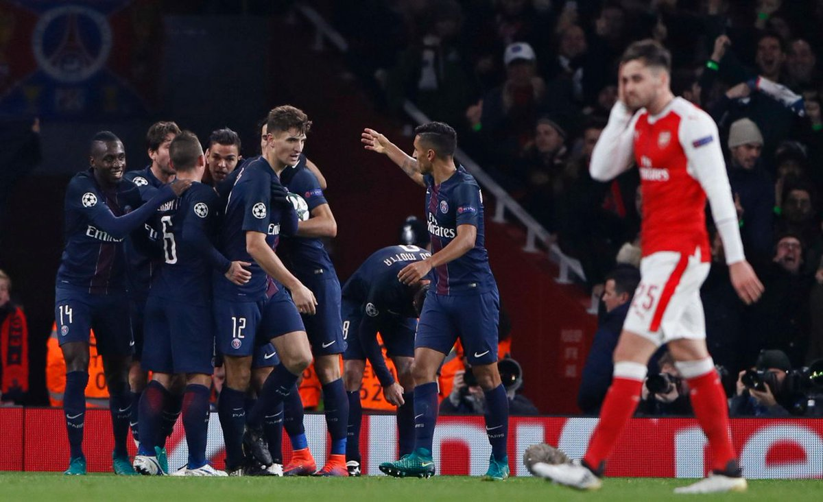 Video: Arsenal vs PSG