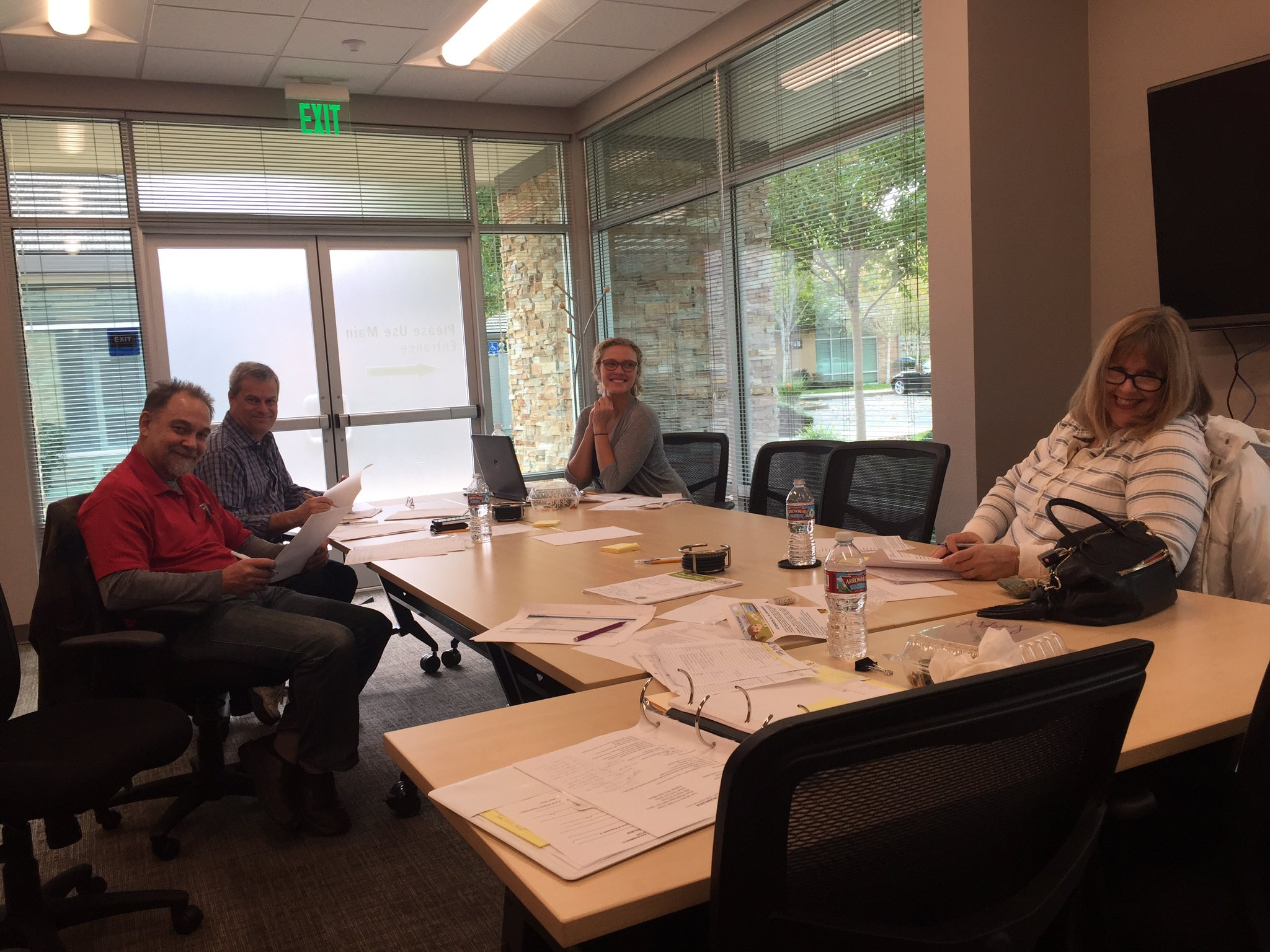 We are lucky to have a community that supports #50Bikes2017. Our selection committee is hard at work today @NatomasChamber #natomasbikeshop https://t.co/ysRJykPk9N