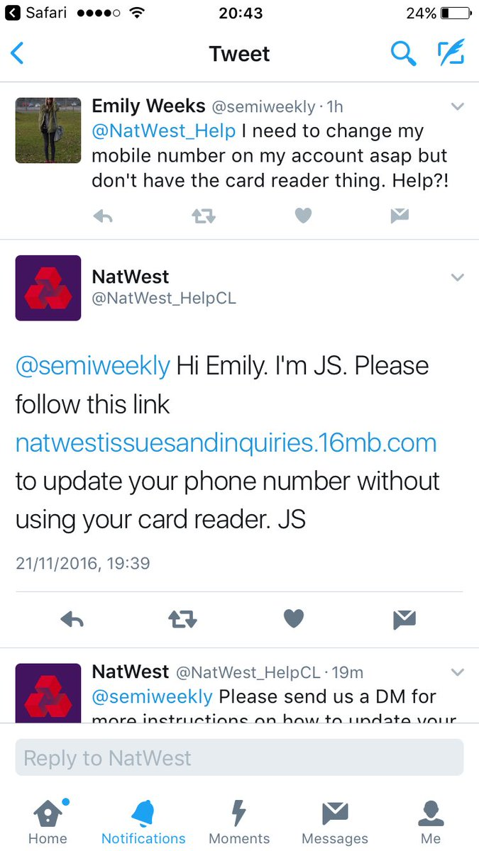 natwest on twitter semiweekly hi emily do you know anyone else