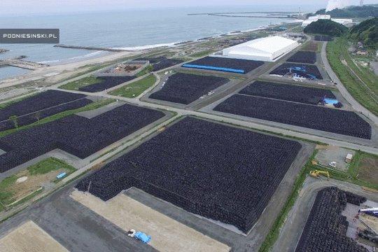 てか3m級の津波が福島襲ったらこれ全部流されるね。だから言ったのに、こんなとこ置いておいたら全部流されちゃうよって。 https://t.co/IoPMJVMqtu