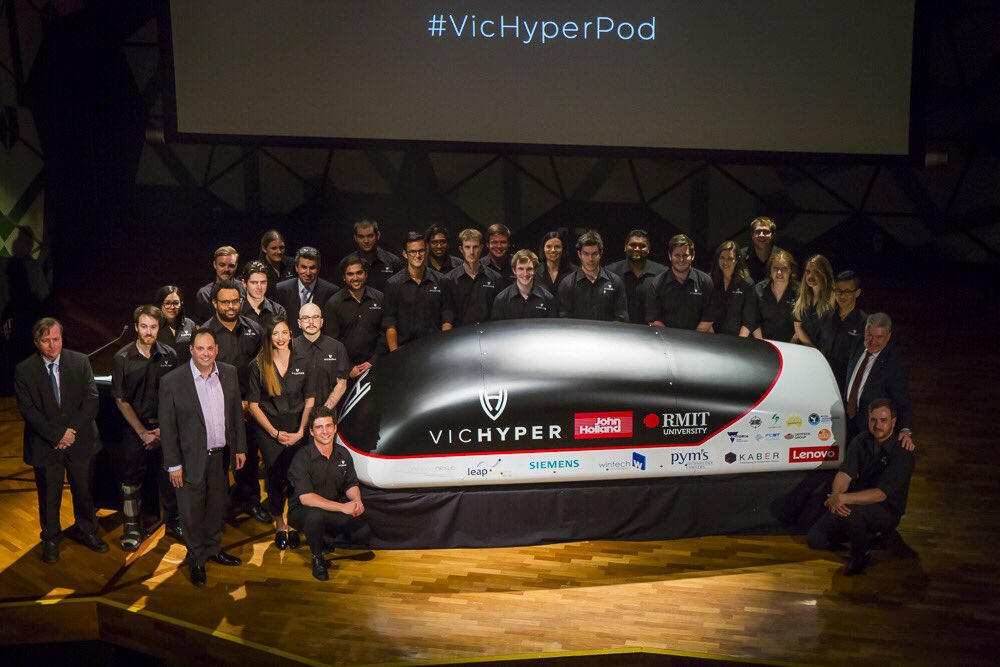The future of high-speed travel could take place in this Hyperloop pod