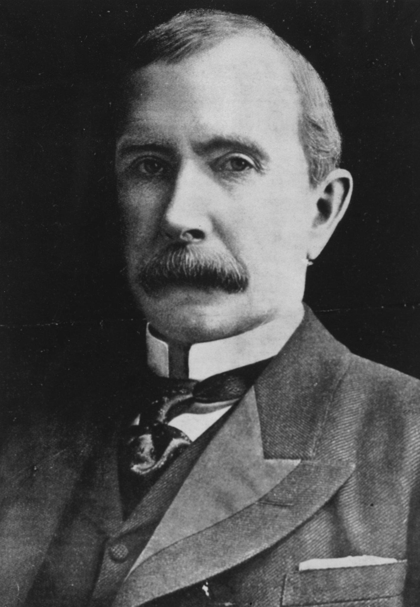 the life of industrialist john d rockefeller and his establishment of standard oil company