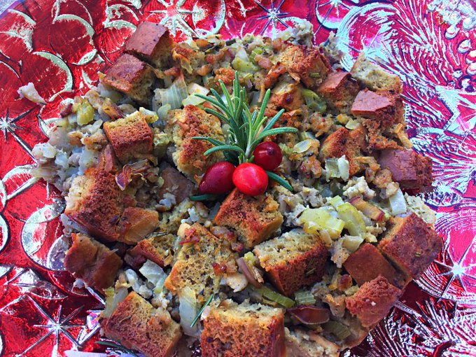 Paleo Bread Stuffing for Holiday Celebration #RecipeIdeas