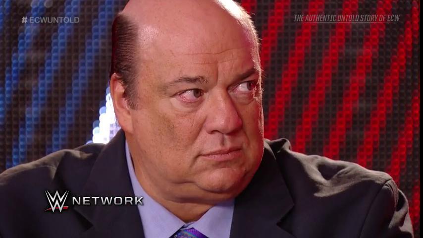 The mastermind behind it all... #ECWUNTOLD #WWENetwork