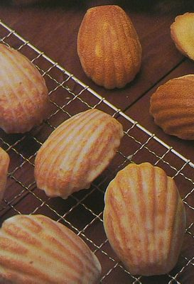 French Madeleine cakes,recipe