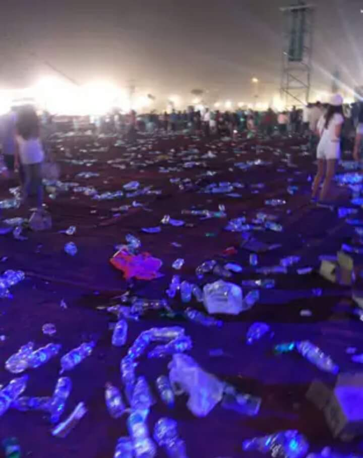 I think @coldplay should have told our ignorant global citizens to clean up after themselves. #GlobalCitizenIndia https://t.co/EzsQwSABwU