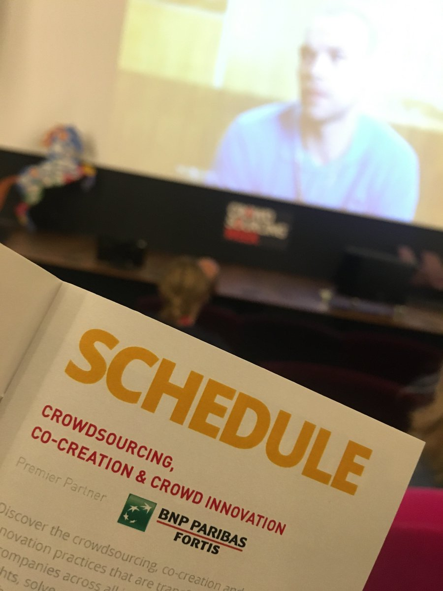 Day 2: #Crowdsourcing, #Co-creation & #Crowd #Innovation happening now at #CSWEUROPE16 https://t.co/LXMU4eVMDU