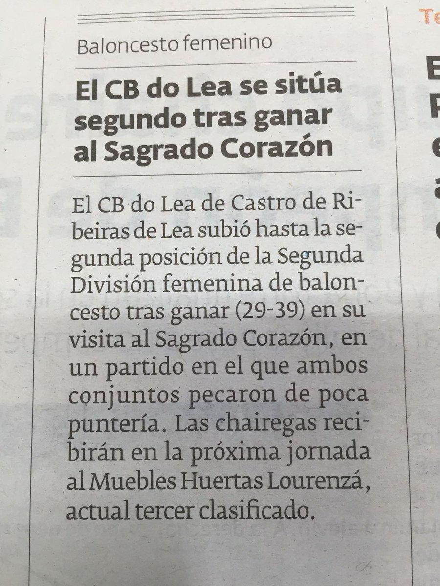 Cb Do Lea On Twitter Nota De Prensa Elprogreachaira  # Muebles Huertas Lourenza