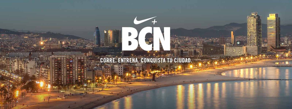 Mañana miércoles estaré en Barcelona para compartir unos kilómetros con vosotr@s. ¡Con muchas ganas! #NRC Home Run @Nike_Spain