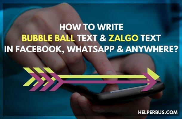 How to write zalgo