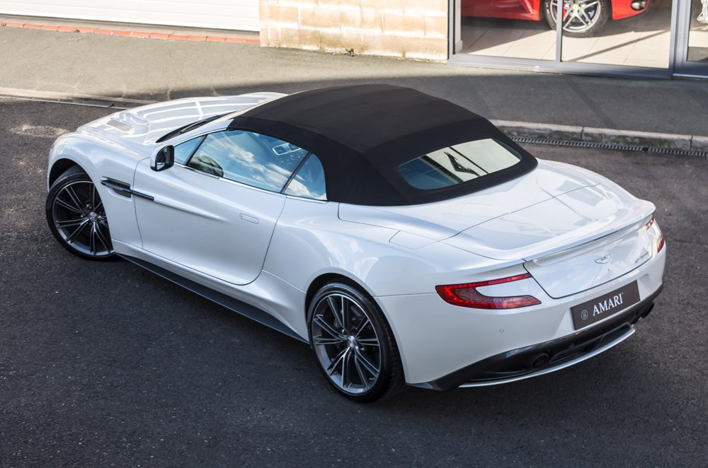 AMARIu0027s #CarOfTheWeek Is This Stunning @astonmartin Vanquish Volante   The  Cheapest On The Market In Morning Frost! Http://www.amarisupercars.com ...