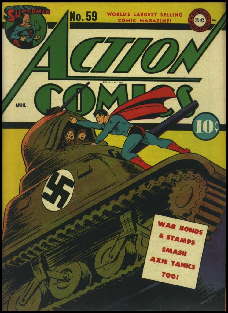 This is Superman. Superman fights Nazis. Be like Superman. https://t.co/Xhn0EO6LDp