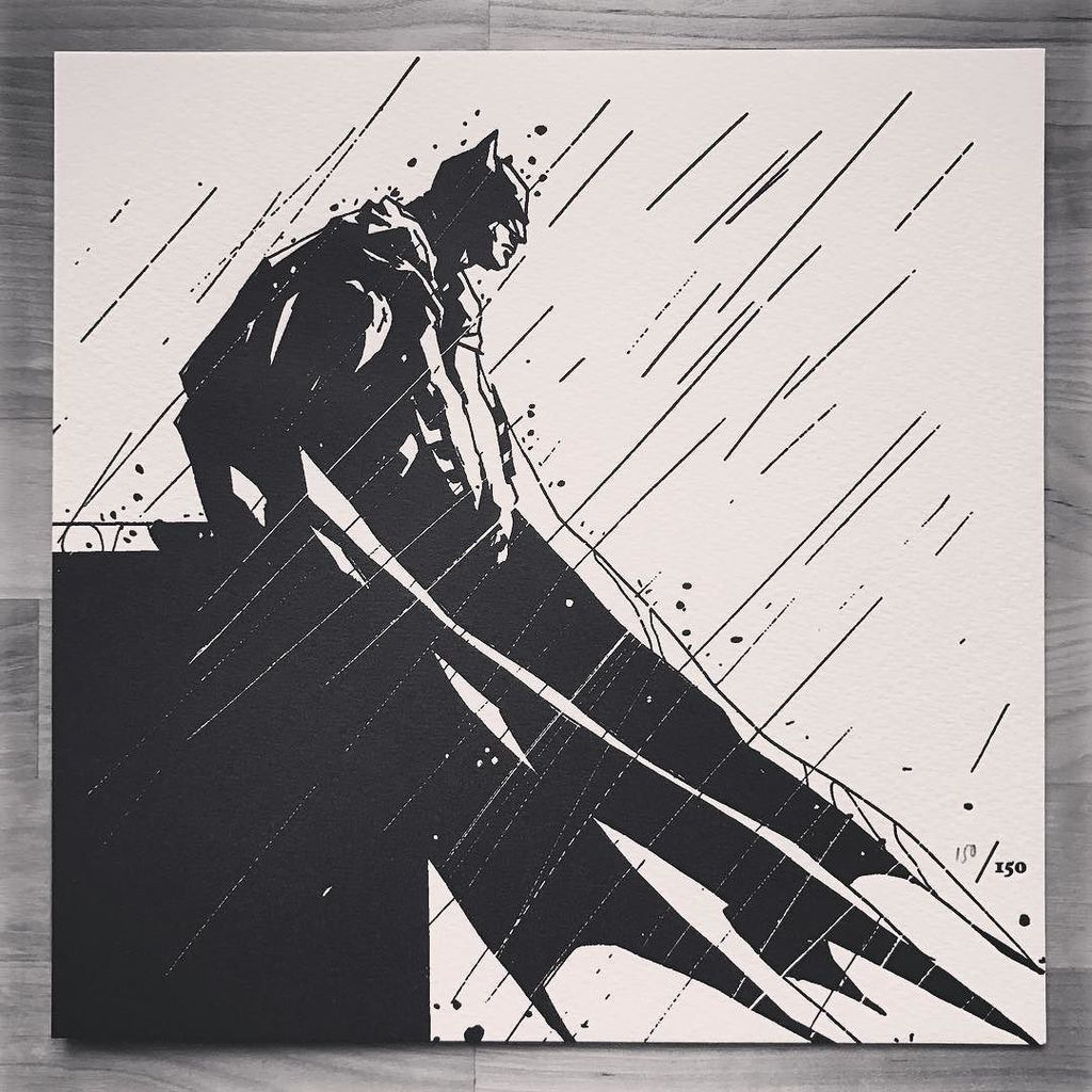Been hunting for this one for months. @jock4twenty #Batman #Letterpress no. 150/150. https://t.co/OMEh9jjHFs https://t.co/JnOby7q8zI