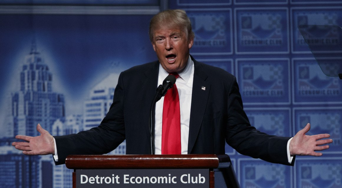 trump says interested pursuing case against clinton