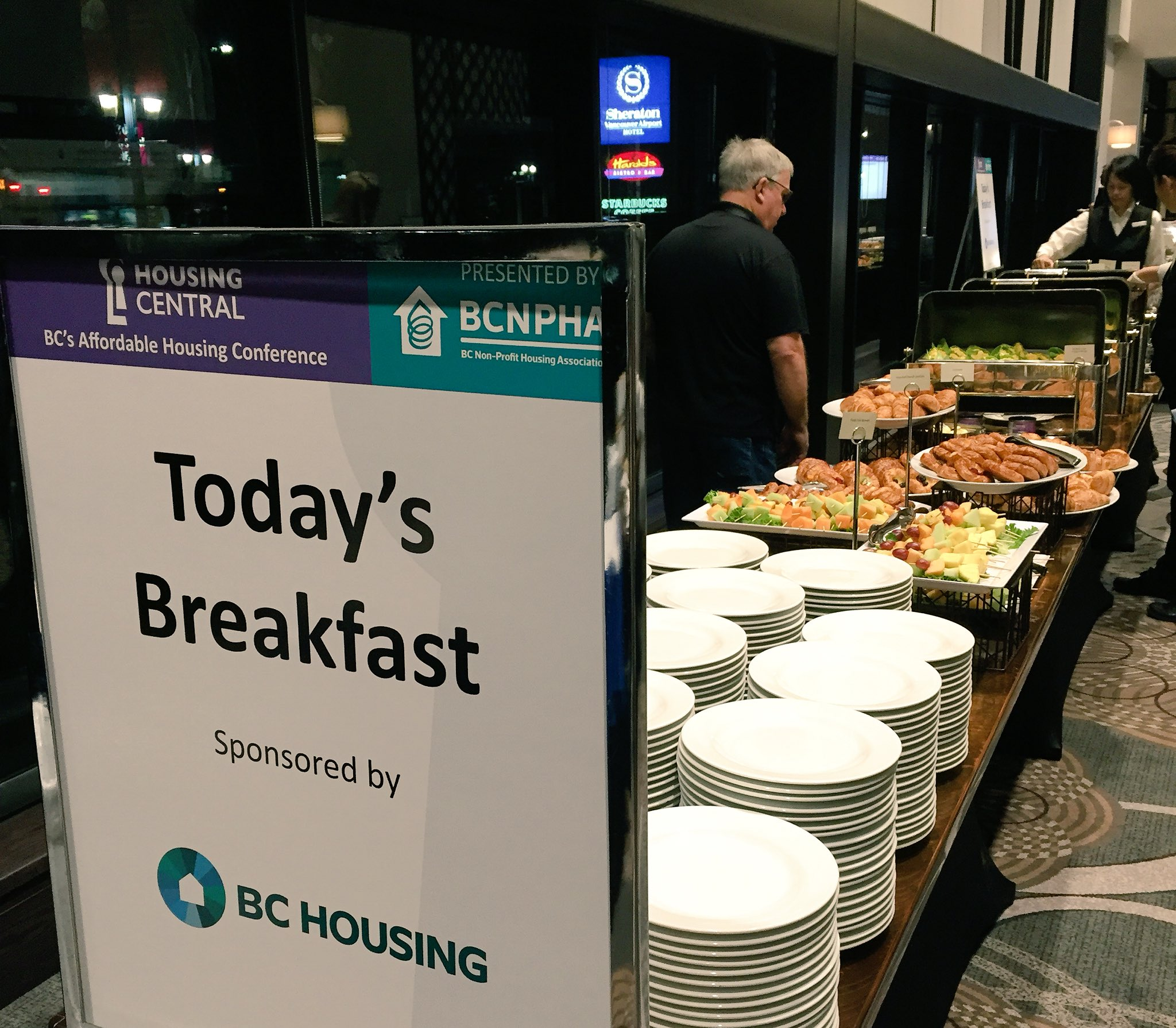 Thank you to Premier Sponsor @bc_housing for generously providing this morning's breakfast! #HousingCentral https://t.co/CpIpQgmQQ2