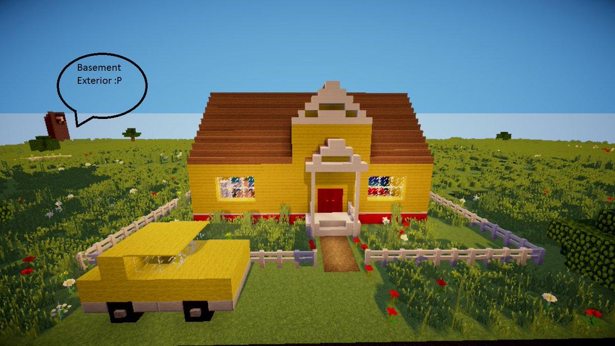 The hello neighbor house - 7 40 Am 22 Nov 2016