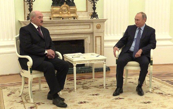 Putin and Lukashenko had a talk in Kremlin