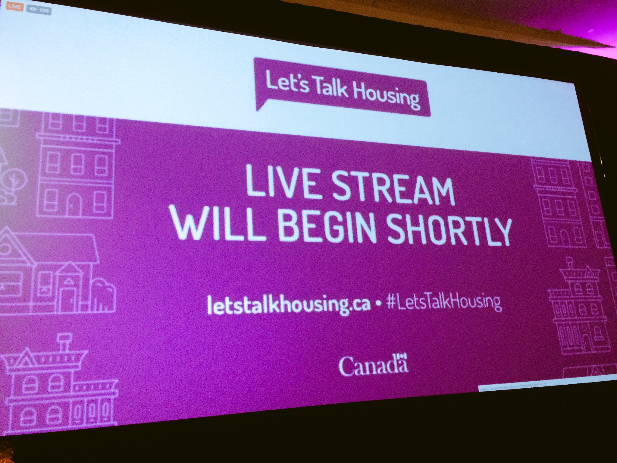Minister @jyduclos @CMHC_ca to outline results of National Housing Strategy Consultation #LetsTalkHousing #NationalHousingDay https://t.co/IaT0VlZnvO