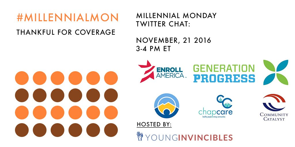 Ahead of Thanksgiving, we took the time to chat w/ partners about why we're #ThankfulForCoverage for #MillennialMon: https://t.co/GCwQaCmqse https://t.co/WuxN50ukBR