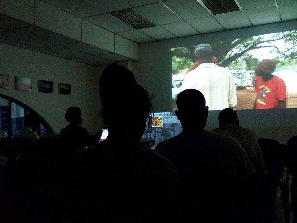 #i2mfinal @TVYangu Escape screening. https://t.co/GPze99egv7