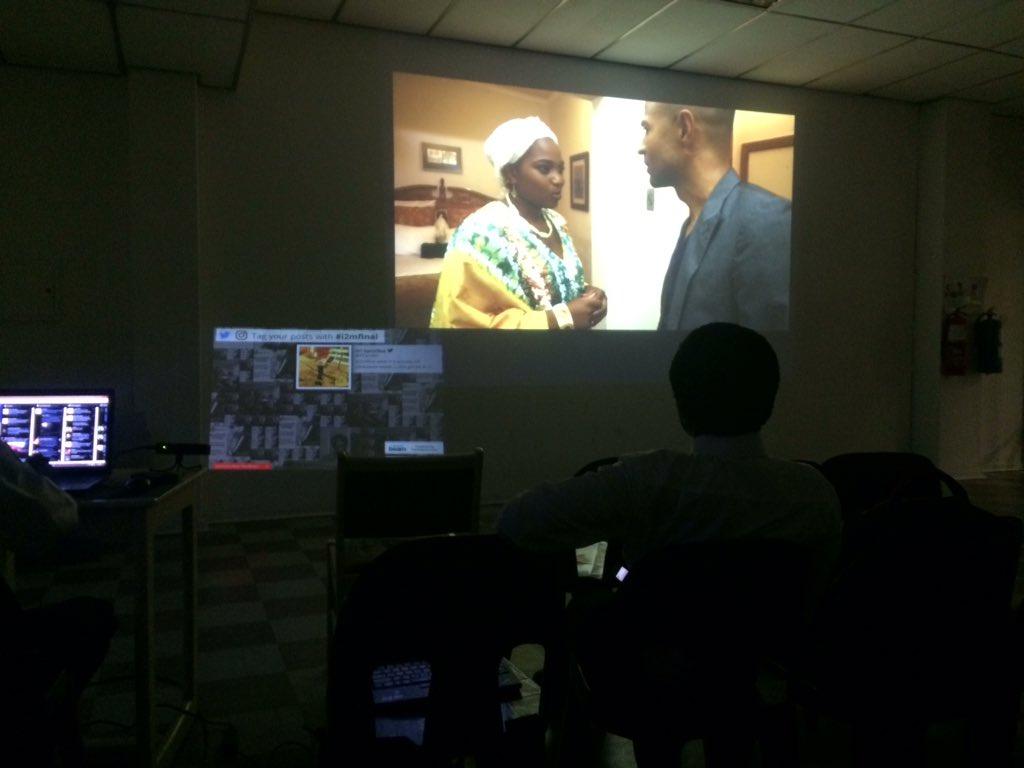 Its movie night for us #StudioYangu #i2mfinal masterclass Filming escape by @joenjagu https://t.co/pDXOh7cf0j