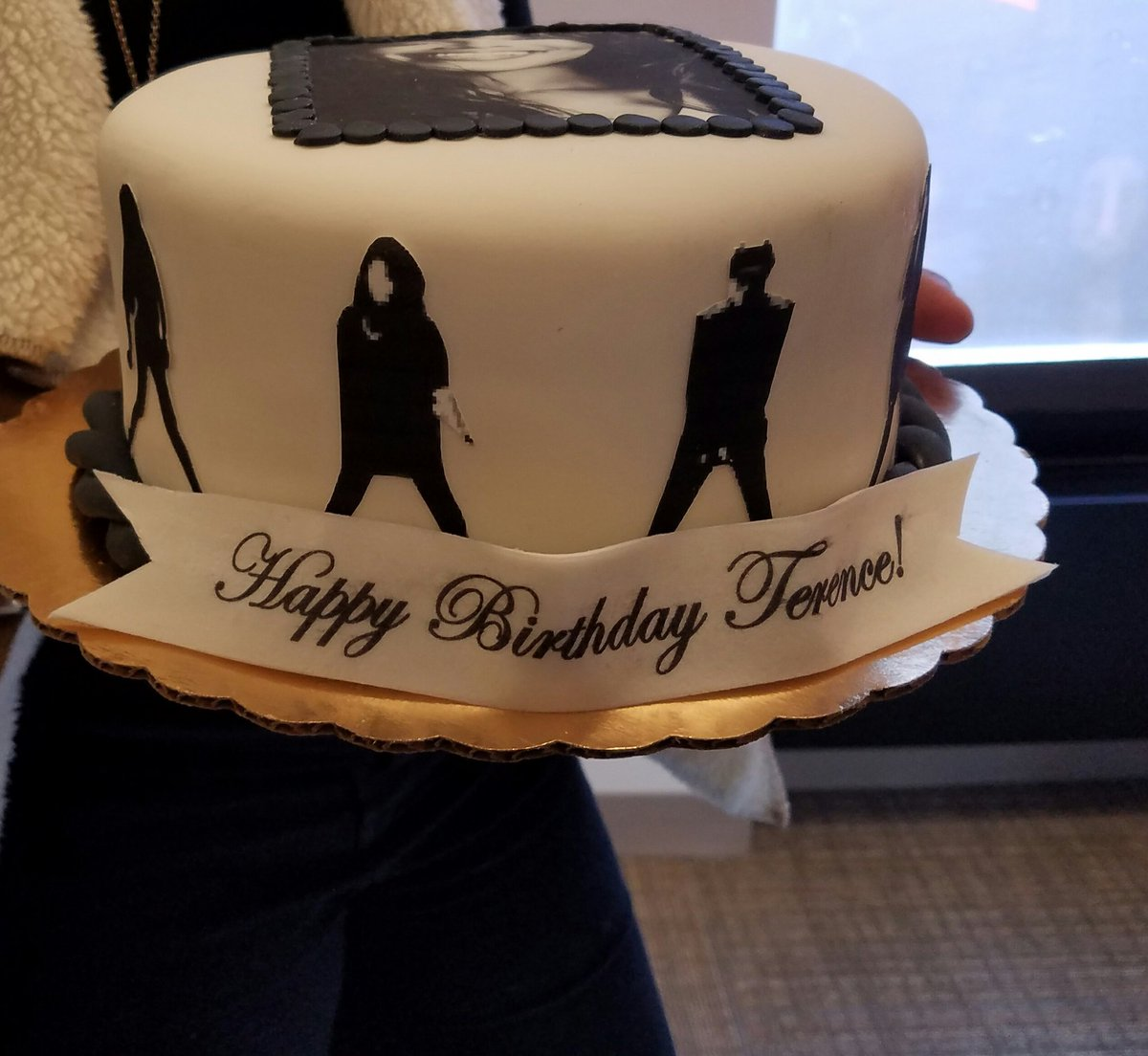 Terence On Twitter Its My Birthday Today My Coworkers Suprised