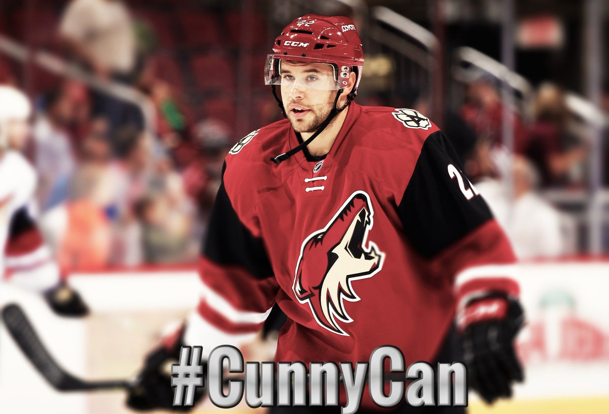 The NHLPA and the whole hockey community is pulling for you, Craig.  Be strong and get well soon. #CunnyCan https://t.co/y2RLntEHy9