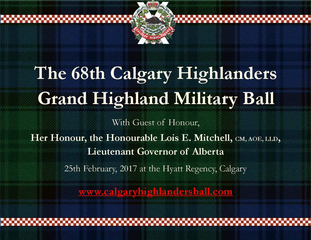 Image result for Calgary, grand highland military ball