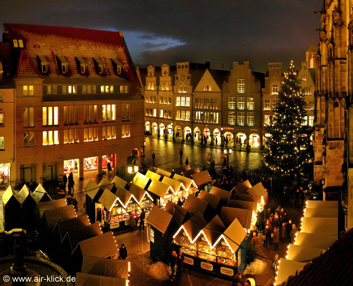 Ontdek Duitsland On Twitter De Vijf Kerstmarkten In Munster Zijn