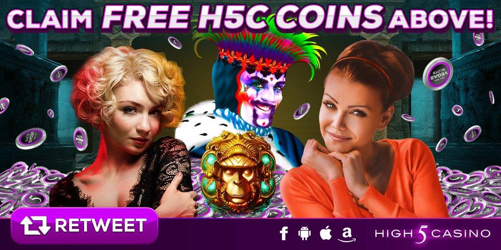 high 5 casino on twitter