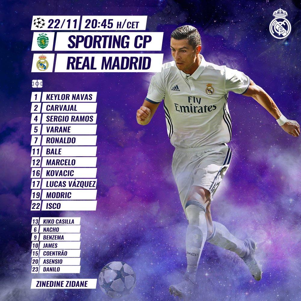 Sporting CP vs Real Madrid Cx4xoA6WQAA5sE0