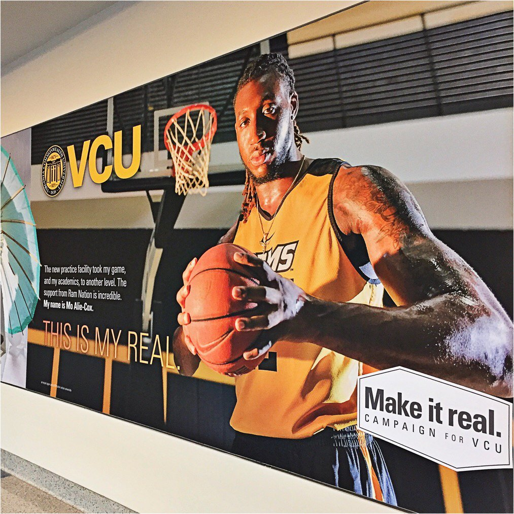 Mo Alie-Cox looking sharp at #RIC! #LetsGoVCU #MakeItReal https://t.co/8H4KoCon8q