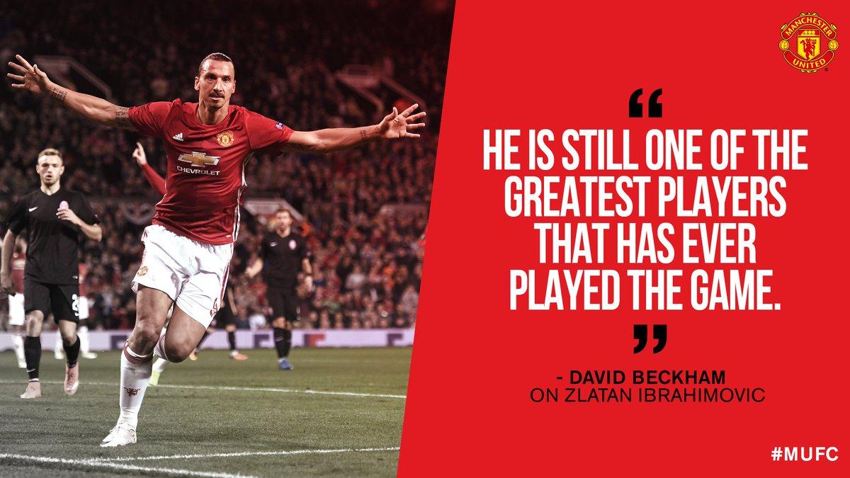 "Manchester United On Twitter ""David Beckham Memberi Pujian"