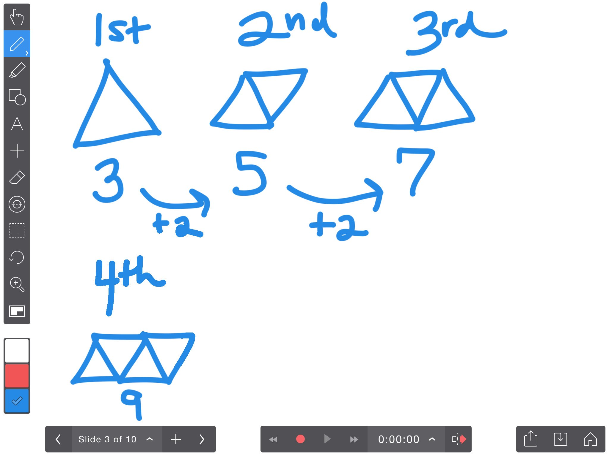 Used @explainevrythng to model solving a math problem. Ss gave me feedback on strategies I used & gave me advice for the future. #dg58learns https://t.co/Y9sMvsYeDS