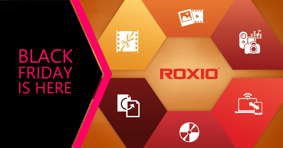 #BlackFriday starts early for Roxio products! Check out the great #deals here: https://t.co/n1Kdsqxm6I https://t.co/Vn082eY2e0