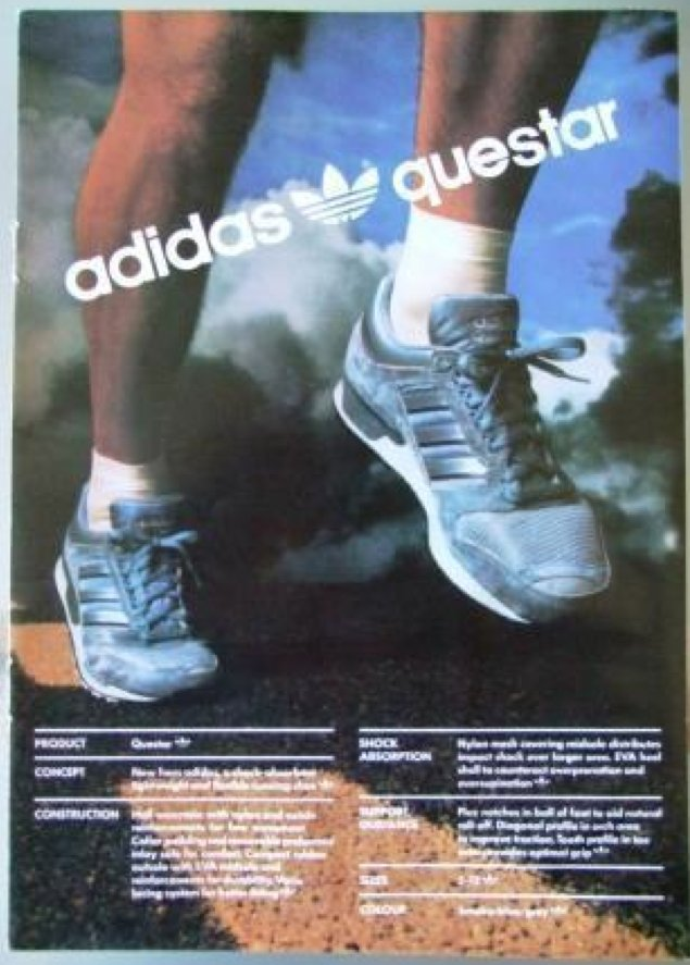 Questar 1986 #adidas #vintage