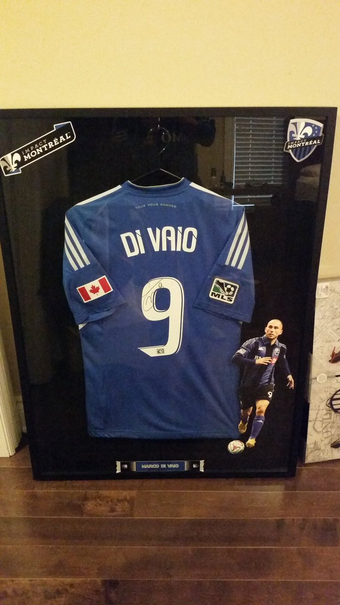 Welcome back Grande Marco!  To Montreal. But I can't wear this tonight!!!! @divaio9 @impactmontreal
