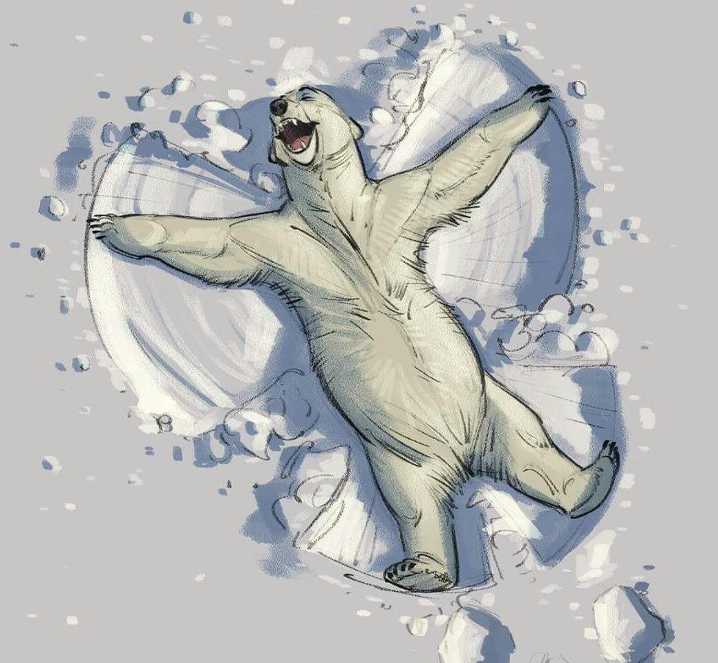 белый медведь арты воздвигли