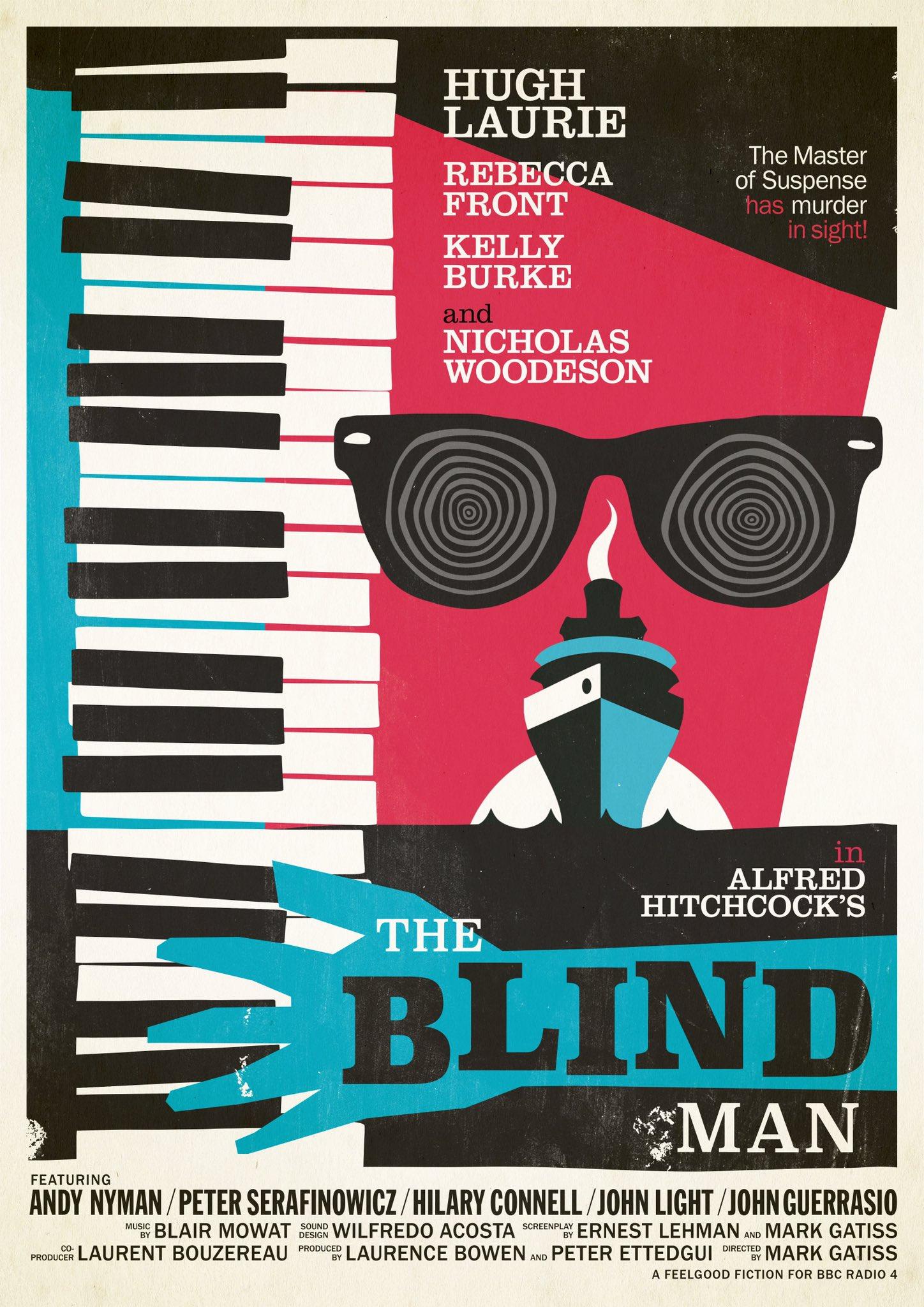 the blind man