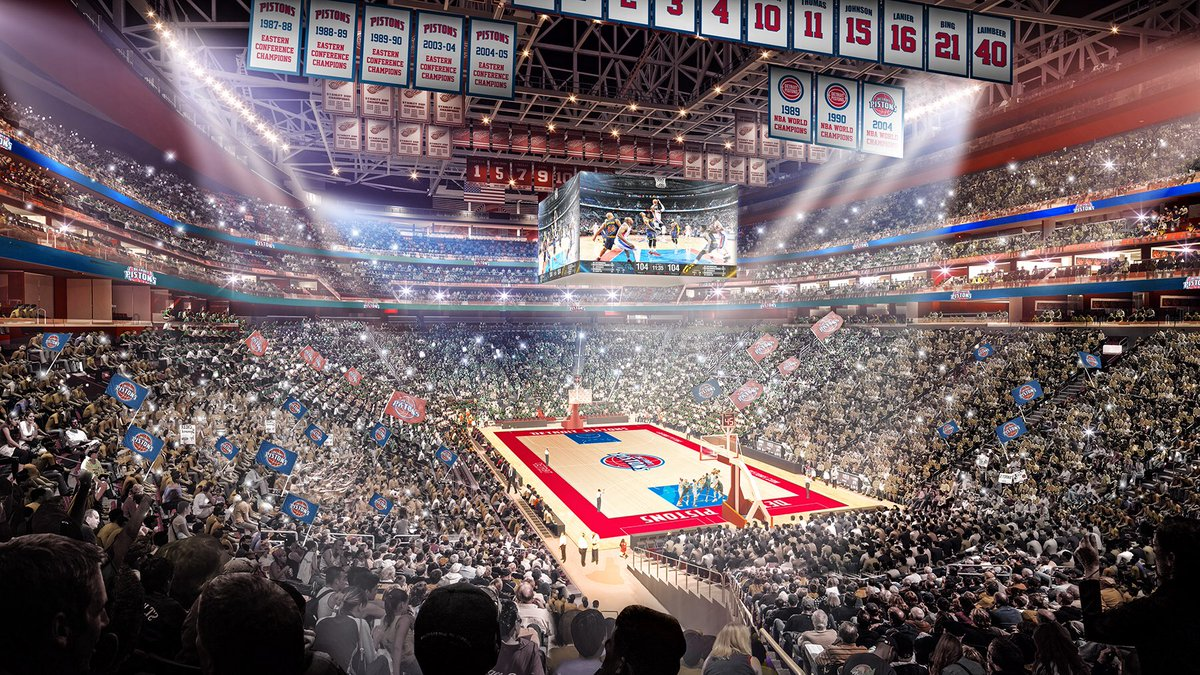 Los Pistons volverán a jugar en Detroit tras 29 años