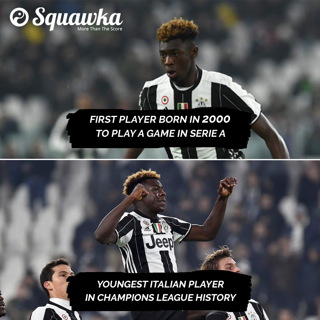 Squawka Football On Twitter Moise Kean Has Made His Debut In His First Ever Champions League Game At The Age Of Just 16 Years 269 Days Old Next Gen Https T Co Xsvkvrwtgk