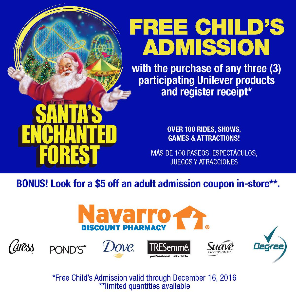 enchanted forest coupon