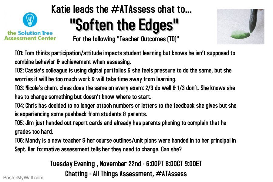 Join @KatieWhite426 and the amazing crew tonight for #ATAssess at 8PM CT! https://t.co/IBnnBDsgBT