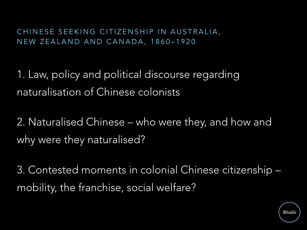 Natz mostly discussed in context of Chinese restriction, but I want to understand what natz meant in the everyday lives of Chinese settlers. https://t.co/E5d3wxTh11