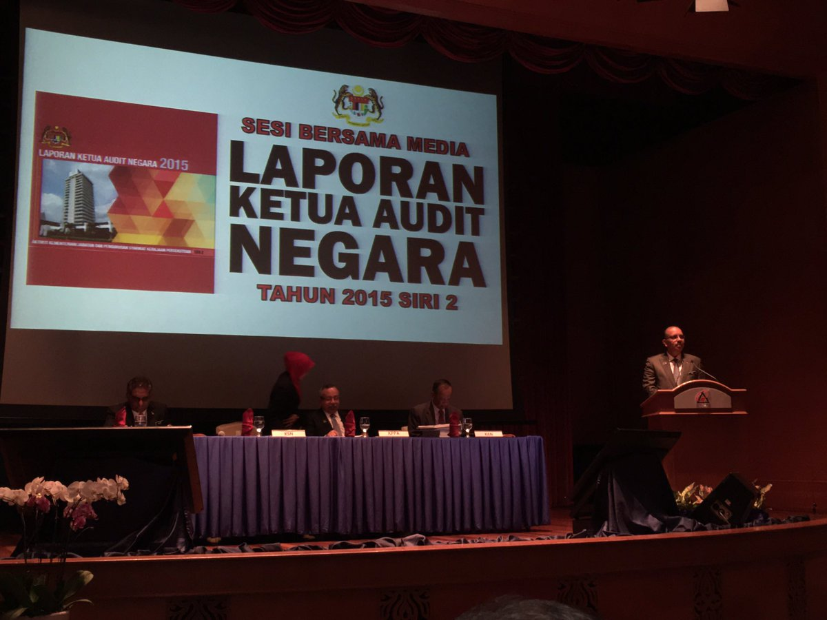 Noorul Ainur On Twitter Laporan Ketua Audit Negara 2015 Siri 2 Is A Townhall Meeting With The Media Attended By Civil Servants And Media Moheofficial Https T Co Rsdwm2gmqt